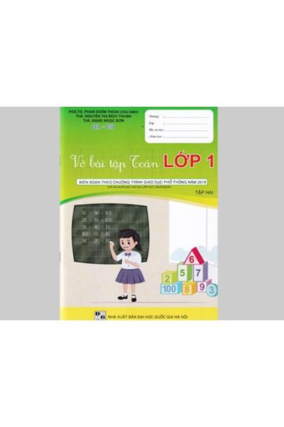 Vở bài tập toán lớp 1 - Độc quyền Quảng Lợi phát hành