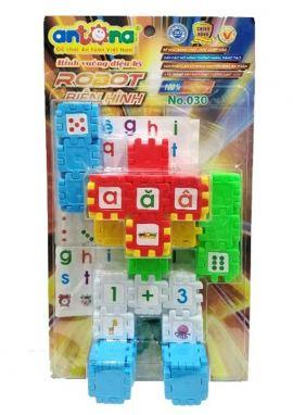 Hình vuông diệu kỳ- Robot biến hình No.030