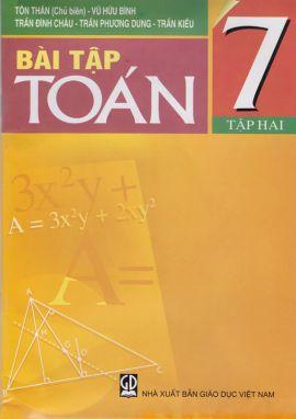 Bài tập toán 7 tập 2