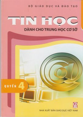 Tin học dành cho THCS quyển 4