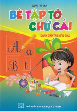 Bé tập tô chữ cái dành cho trẻ mẫu giáo